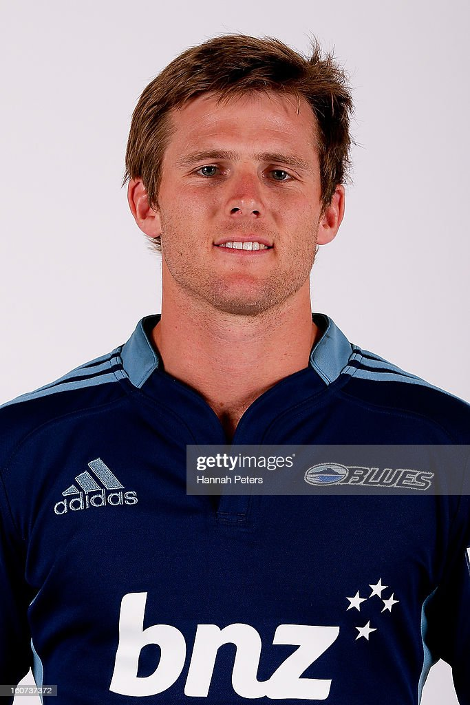 Chris Noakes poses for a portrait during the 2013 Blues headshots session on February 5, 2013 in Auckland, New Zealand.