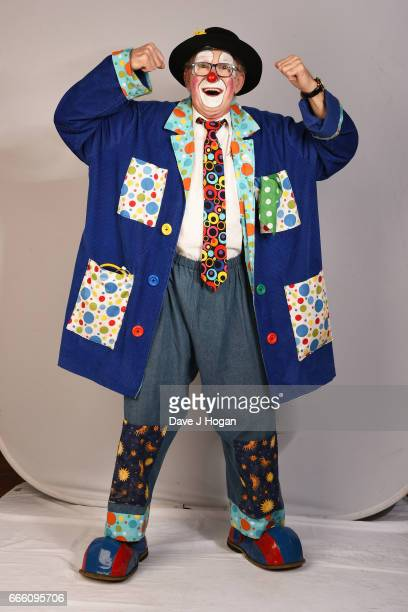 Chris North aka Bungle The Clown attends the International Clown Festival at the Jeneses Arts Centre on April 8 2017 in Bognor Regis United Kingdom