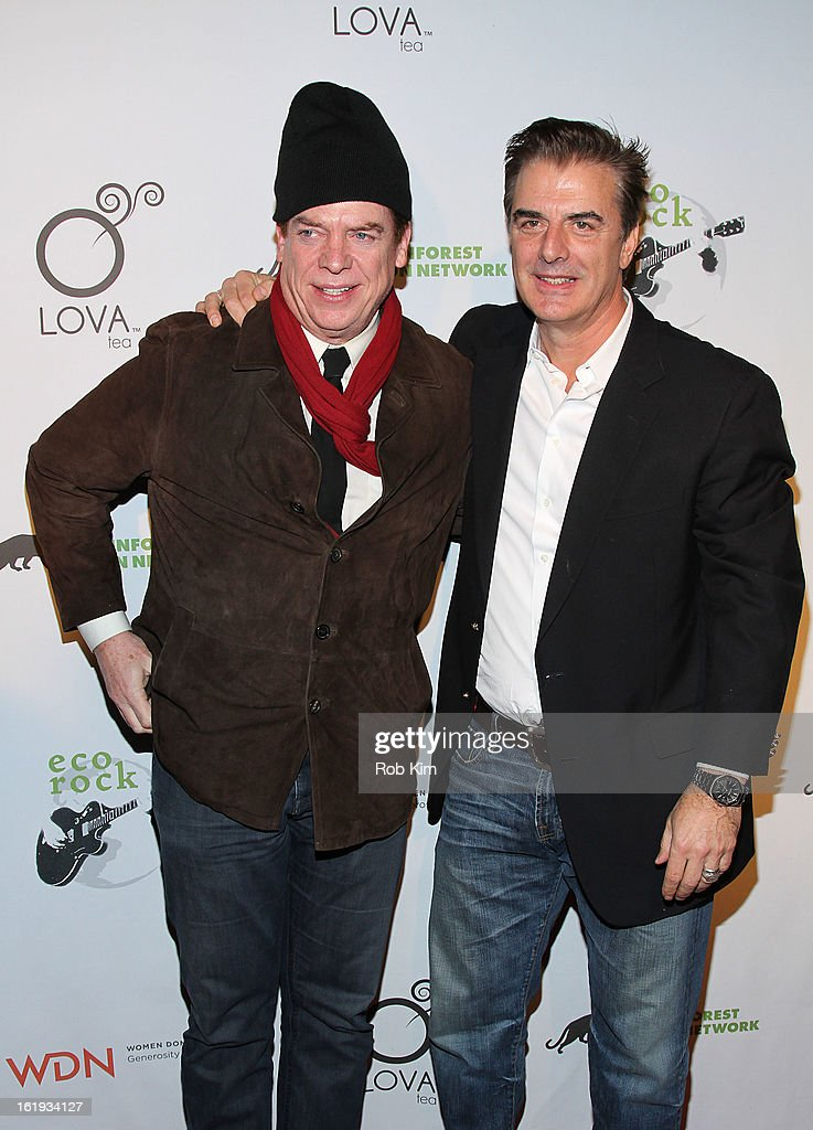<a gi-track='captionPersonalityLinkClicked' href=/galleries/search?phrase=Chris+Noth&family=editorial&specificpeople=206568 ng-click='$event.stopPropagation()'>Chris Noth</a> (R) and Chris McDonald attend The Rainforest Action Network Benefit at The Cutting Room on February 17, 2013 in New York City.