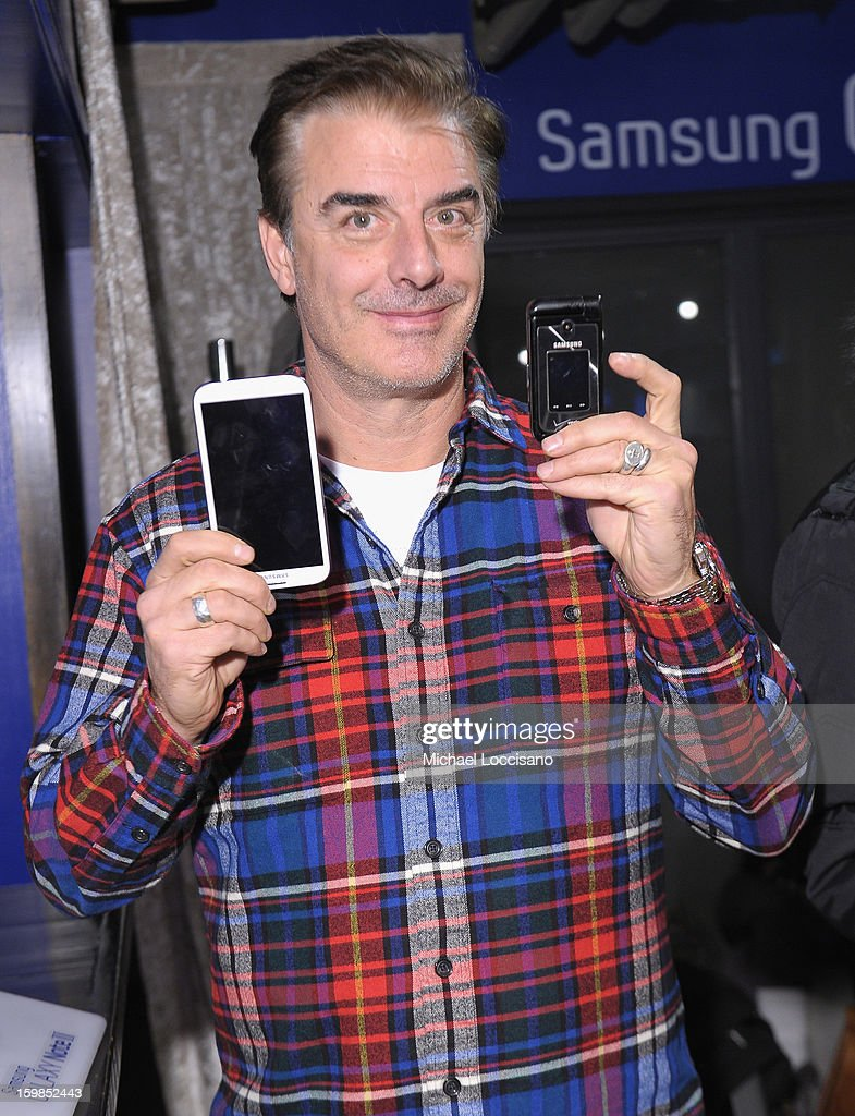 <a gi-track='captionPersonalityLinkClicked' href=/galleries/search?phrase=Chris+Noth&family=editorial&specificpeople=206568 ng-click='$event.stopPropagation()'>Chris Noth</a> attends Day 4 of Samsung Galaxy Lounge at Village At The Lift 2013 on January 21, 2013 in Park City, Utah.
