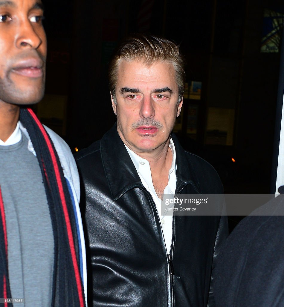 Chris Noth attends SNL after party at Buddakan on March 10, 2013 in New York City.