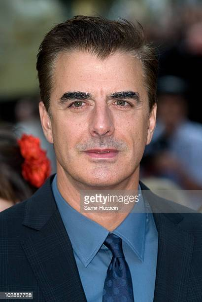 Chris Noth attends the UK premiere of 'Sex and the City 2' at Odeon Leicester Square on May 27 2010 in London England