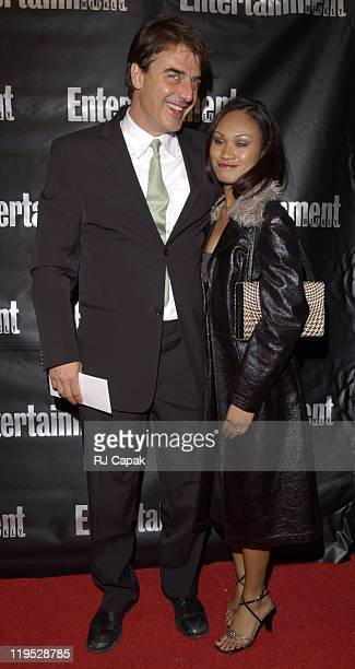 Chris Noth during Entertainment Weekly 8th Annual Academy Awards Viewing Party at Elaine's in New York City New York United States