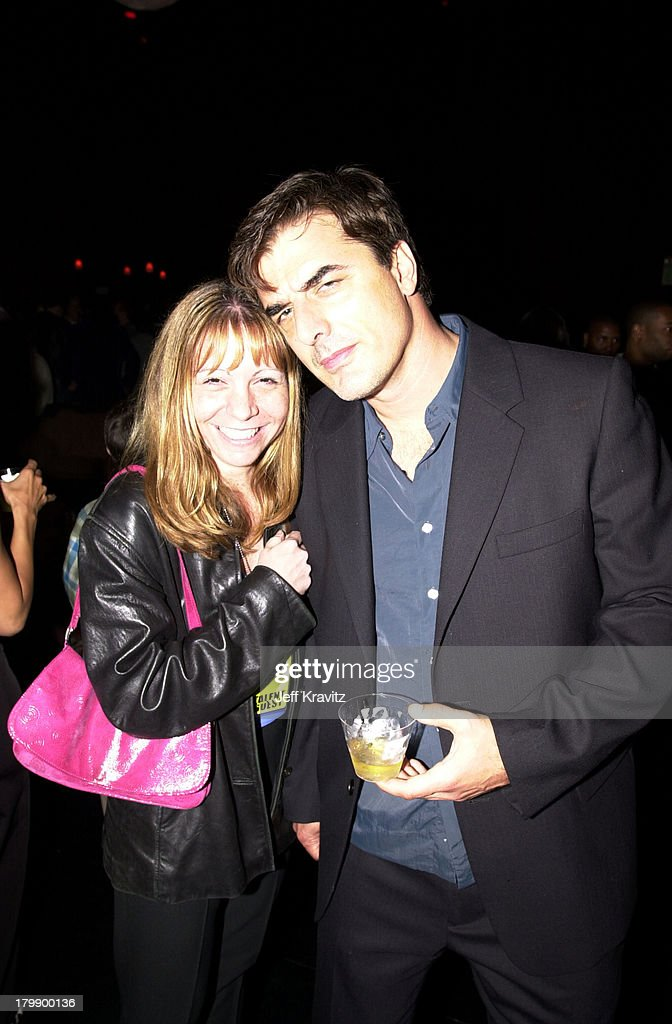 <a gi-track='captionPersonalityLinkClicked' href=/galleries/search?phrase=Chris+Noth&family=editorial&specificpeople=206568 ng-click='$event.stopPropagation()'>Chris Noth</a>, right and guest during 2000 MTV Movie Awards at Sony Studios in Culver City, California, United States.