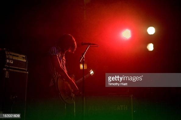 Chris Null of Dead Sara performs during 2012 Riot Fest at Congress Theater on September 14 2012 in Chicago Illinois
