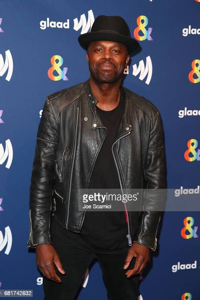 Chris Obi arrives at the 'American Gods' advance screening In Partnership with GLAAD at The Paley Center for Media on May 10 2017 in Beverly Hills...