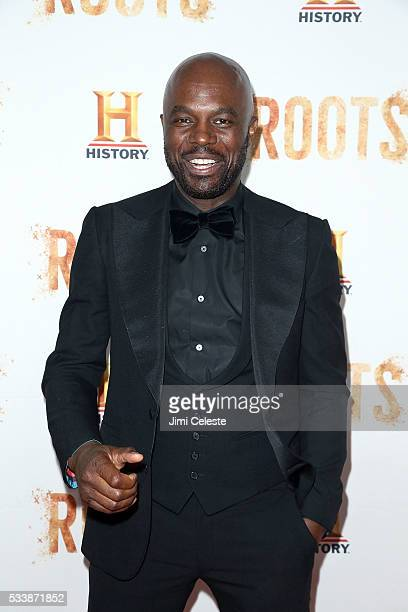 Chris Obi attends as HISTORY presents night one of the epic event series 'Roots' at Alice Tully Hall on May 23 2016 in New York City