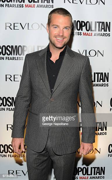 Chris O'Donnell attends Cosmopolitan Magazine's Fun Fearless Males of 2010 at the Mandarin Oriental Hotel on March 1 2010 in New York City
