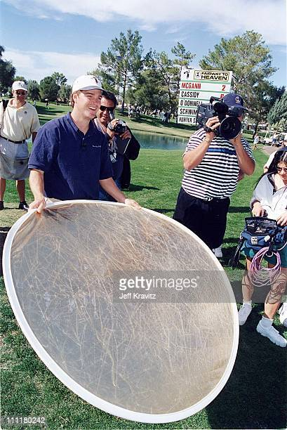 Chris O'Donnell during 1998 Fairway to Heaven Golf Tournament in Las Vegas Nevada United States