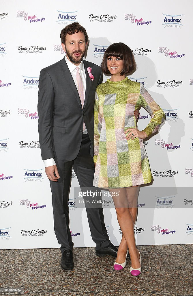 Chris O'Dowd and Dawn O'Porter attend the Best Friends Ball to launch Breast Cancer Care's Pink Fridays campaign at Bush Hall on September 20, 2013 in London, England. The event was supported by Andrex Washlets.