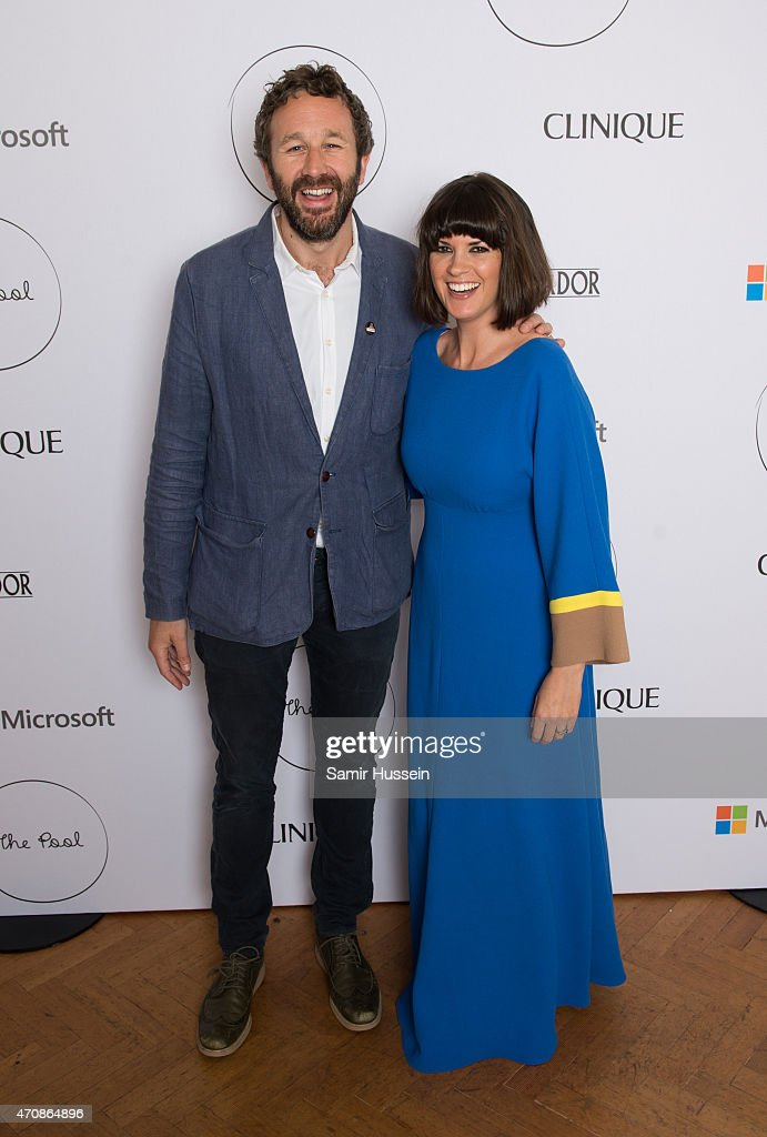 Chris O'Dowd and Dawn O'Porter attend the launch party for The Pool, a unique multi-media platform for busy women co-founded by renowned editor and journalist Sam Baker and broadcaster Lauren Laverne, on April 23, 2015 in London, England. www.the-pool.com