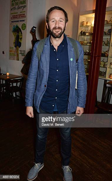 Chris O'Dowd attends an after party following the press night performance of 'Fully Committed' at the Menier Chocolate Factory on September 10 2014...