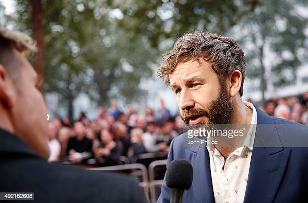 Chris O'Dowd attends the 'The Program' screening during the BFI London Film Festival at Vue Leicester Square on October 10 2015 in London England
