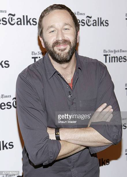 Chris O'Dowd attends TimesTalks at Times Center on March 7 2014 in New York City