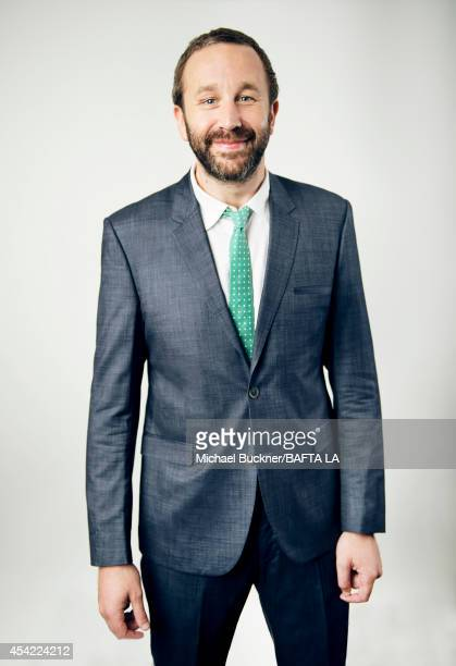 Chris O'Dowd poses for a portrait at the BAFTA luncheon on August 23 2014 in Los Angeles California