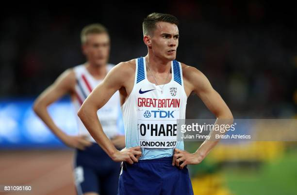 Chris O'Hare of Great Britain stands dejected after the Men's 1500 metres final during day ten of the 16th IAAF World Athletics Championships London...