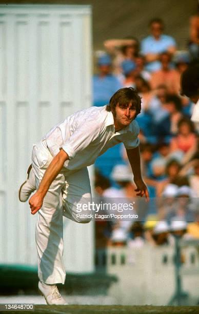 Chris Old England v Australia 2nd Test Old Trafford June 1977