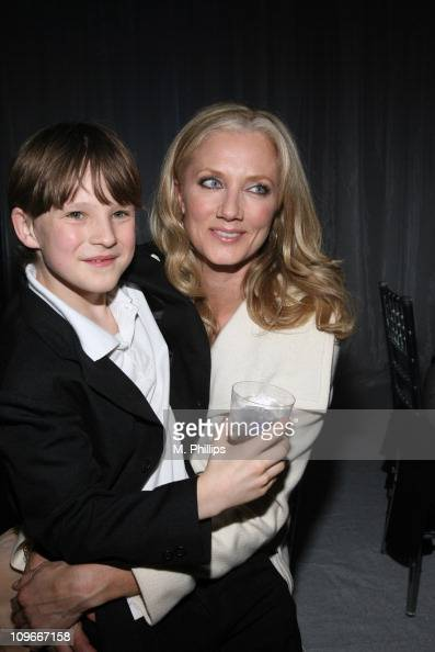Chris O'Neil and Joely Richardson during 'The Last Mimzy' Los Angeles Premiere After Party at The Mann Village Theatre in Westwood California United...