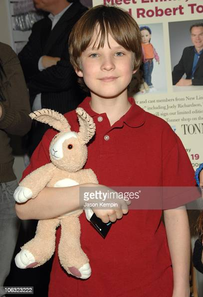 Chris O'Neil during 'The Last Mimzy' Doll Signing At FAO Schwarz March 19 2007 at FAO Schwarz in New York City New York United States