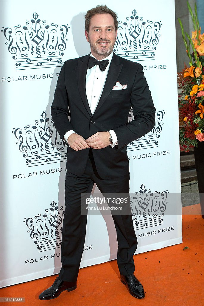 Chris O'Neill attend Polar Music Prize at Stockholm Concert Hall on August 26, 2014 in Stockholm, Sweden.