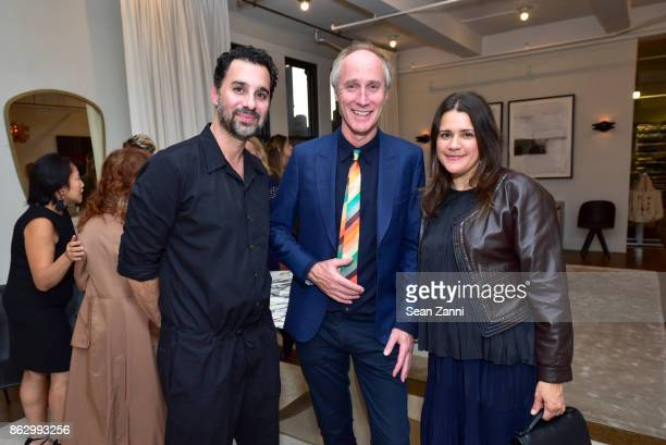 Chris Osvai Tom Faulkner and Melissa Bowers at Angela Brown Ltd on October 18 2017 in New York City