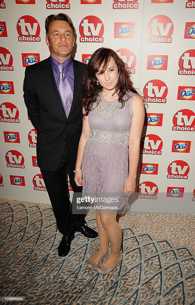 Chris Packham (L0 and guest arrive at the TVChoice Awards 2010 held at The Dorchester on September 6, 2010 in London, England.
