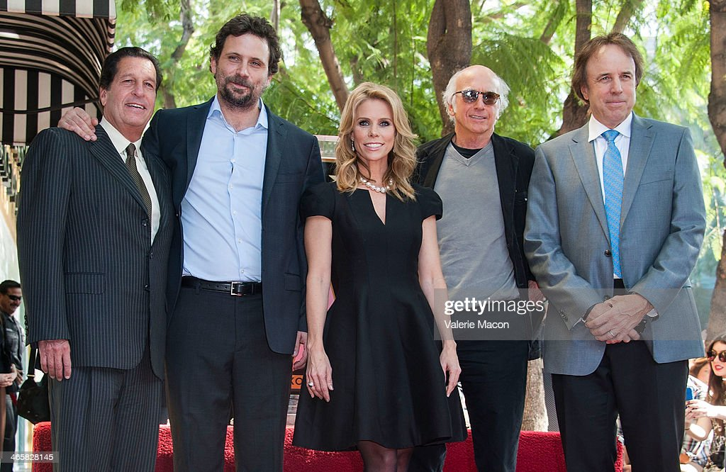 <a gi-track='captionPersonalityLinkClicked' href=/galleries/search?phrase=Chris+Parnell+-+Actor&family=editorial&specificpeople=2155146 ng-click='$event.stopPropagation()'>Chris Parnell</a>, <a gi-track='captionPersonalityLinkClicked' href=/galleries/search?phrase=Jeremy+Sisto&family=editorial&specificpeople=207064 ng-click='$event.stopPropagation()'>Jeremy Sisto</a>, <a gi-track='captionPersonalityLinkClicked' href=/galleries/search?phrase=Cheryl+Hines&family=editorial&specificpeople=209249 ng-click='$event.stopPropagation()'>Cheryl Hines</a>, <a gi-track='captionPersonalityLinkClicked' href=/galleries/search?phrase=Larry+David&family=editorial&specificpeople=125184 ng-click='$event.stopPropagation()'>Larry David</a> and <a gi-track='captionPersonalityLinkClicked' href=/galleries/search?phrase=Kevin+Nealon&family=editorial&specificpeople=214104 ng-click='$event.stopPropagation()'>Kevin Nealon</a> attends the ceremony Honoring <a gi-track='captionPersonalityLinkClicked' href=/galleries/search?phrase=Cheryl+Hines&family=editorial&specificpeople=209249 ng-click='$event.stopPropagation()'>Cheryl Hines</a> on THe Hollywood Walk of Fame on January 29, 2014 in Hollywood, California.