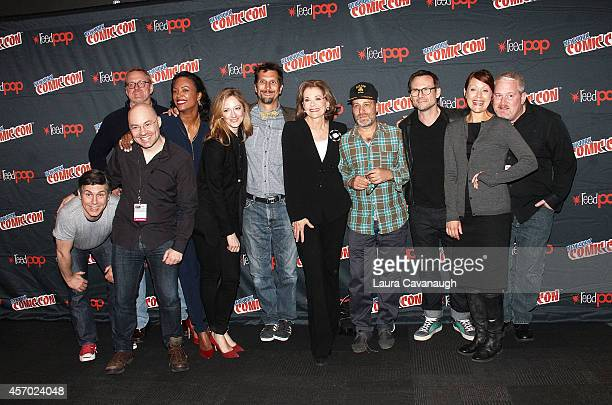 Chris Parnell Matt Thompson Casey Willis Aisha Tyler Judy Greer Lucky Yates Jessica Walter Jon Benjamin Christian Slater Amber Nash and Adam Reed of...