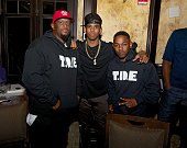 Chris Paul and Kendrick Lamar are seen during NBA AllStar Weekend 2014 at on February 15 2014 in New Orleans Louisiana