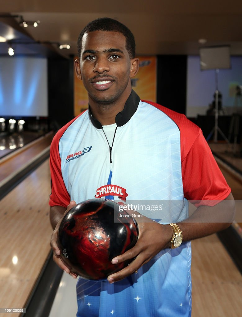 Chris Paul attends the 2013 Chris Paul PBA League All-Stars Invitational Bowling Tournament at Lucky Strike Lanes at L.A. Live on January 7, 2013 in Los Angeles, California.