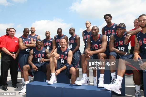 Chris Paul Carlos Boozer LeBron James Michael Redd Dwight Howard Jason Kidd Dwyane Wade Tayshaun Prince Kobe Bryant Chris Bosh Carmelo Anthony and...
