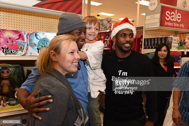 Chris Paul of the LA Clippers and Kevin Hart host a Christmas shopping spree for children from LAs Best The Brotherhood Crusade the Watts/Willowbrook...