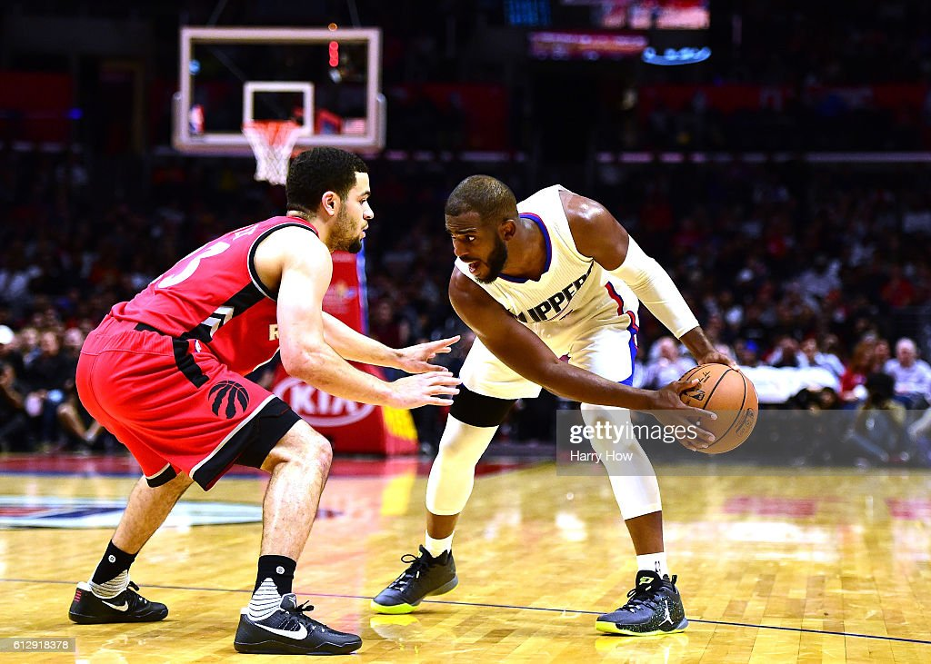 Toronto Raptors v Los Angeles Clippers