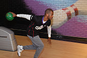 Chris Paul of the Los Angeles Clippers participates in the 16th annual Charity BasketBowl Challenge at Keystone Lanes on February 27 2016 in Norwalk...