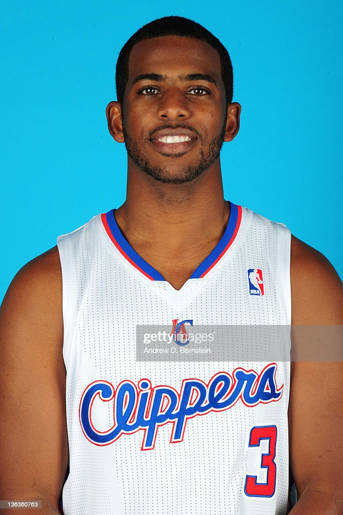 <a gi-track='captionPersonalityLinkClicked' href=/galleries/search?phrase=Chris+Paul&family=editorial&specificpeople=212762 ng-click='$event.stopPropagation()'>Chris Paul</a> #3 of the Los Angeles Clippers poses for a photo at the Clippers Training Center on December 15, 2011 in Playa Vista, California.