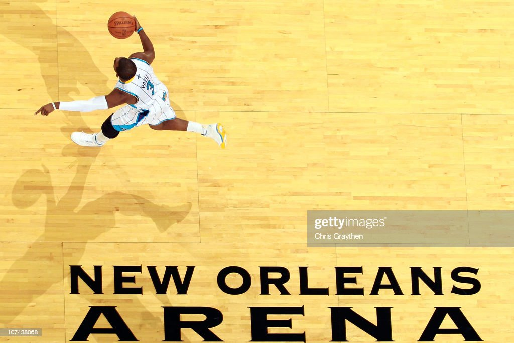 <a gi-track='captionPersonalityLinkClicked' href=/galleries/search?phrase=Chris+Paul&family=editorial&specificpeople=212762 ng-click='$event.stopPropagation()'>Chris Paul</a> #3 of the New Orleans Hornets drives the ball up the court during the game against the Detroit Pistons at the New Orleans Arena on December 8, 2010 in New Orleans, Louisiana.