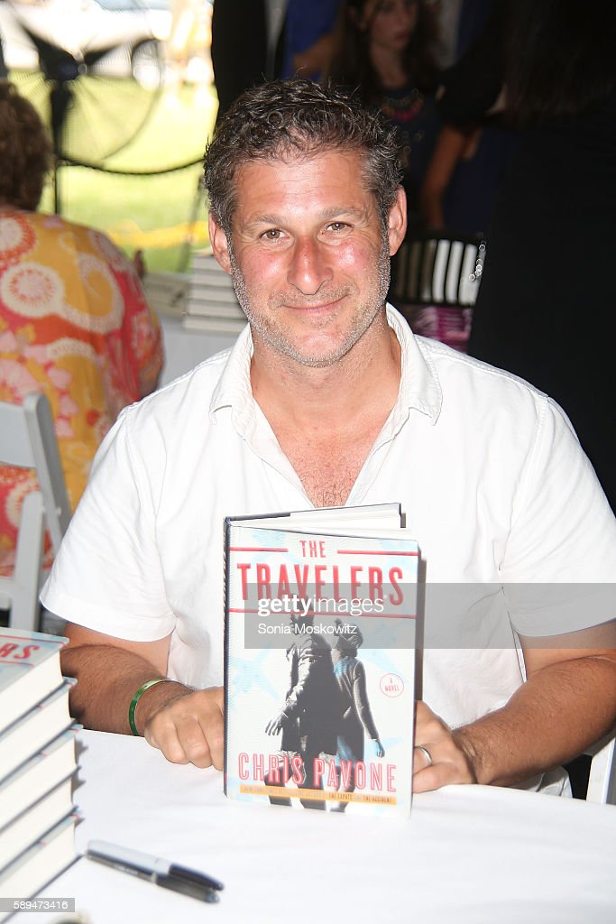 Chris Pavone attends the East Hampton Library's 12th Annual Authors Night Benefit on August 13, 2016 in East Hampton, New York.