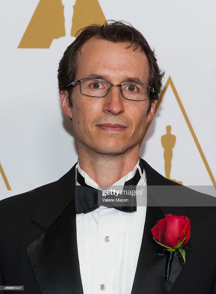 Chris Perry arrives at the Academy Of Motion Picture Arts And Sciences' Scientific And Technical Awards Ceremony at Beverly Hills Hotel on February 15, 2014 in Beverly Hills, California.