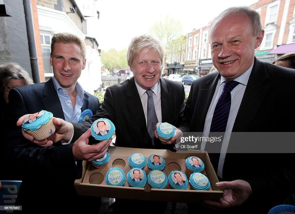 Boris Johnson And Damian Greene Campaign On Civil Liberties