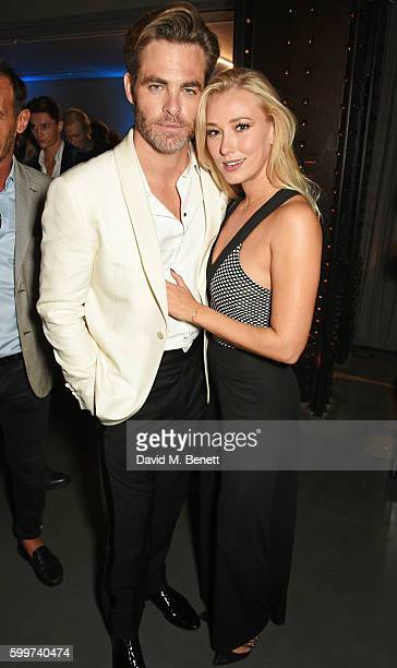 Chris Pine and guest attend the GQ Men Of The Year Awards 2016 after party at the Tate Modern on September 6 2016 in London England
