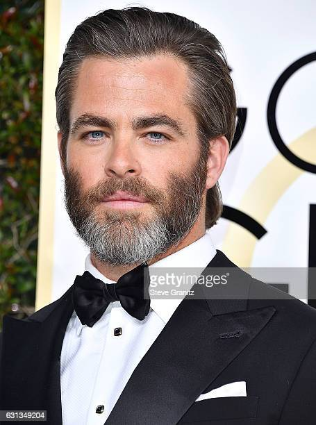 Chris Pine arrives at the 74th Annual Golden Globe Awards at The Beverly Hilton Hotel on January 8 2017 in Beverly Hills California