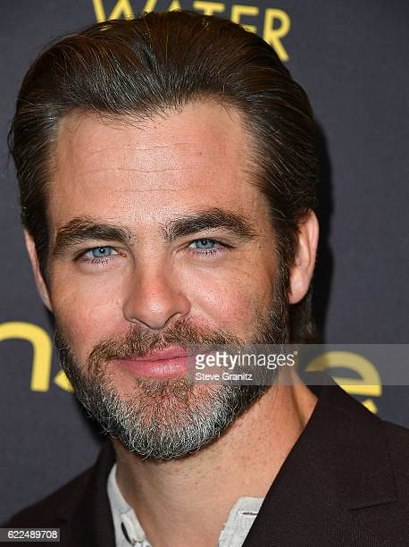 Chris Pine arrives at the Hollywood Foreign Press Association And InStyle Celebrate The 2017 Golden Globe Award Season at Catch LA on November 10...