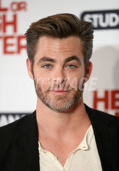 Chris Pine arrives for the...