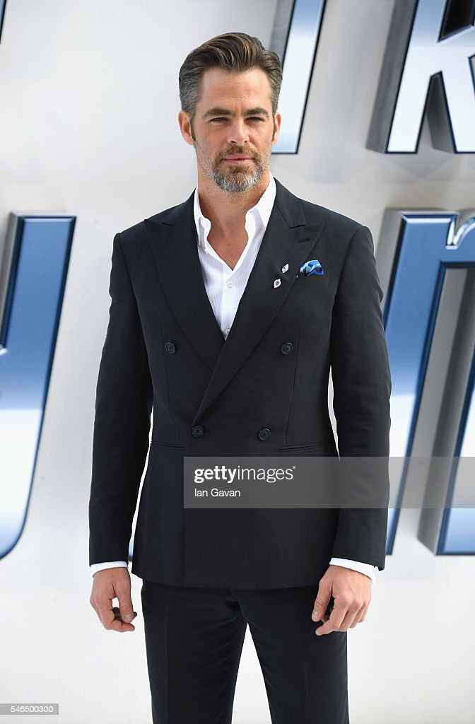 Chris Pine arrives for the UK premiere of 'Star Trek Beyond' at Empire Leicester Square on July 12 2016 in London UK