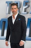 Chris Pine arrives for the UK premiere of 'Star Trek Beyond' on July 12 2016 in London United Kingdom