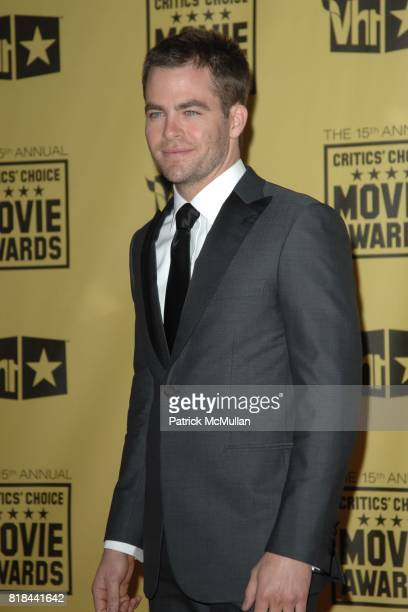 Chris Pine attends 2010 Critics Choice Awards at The Palladium on January 15 2010 in Hollywood California