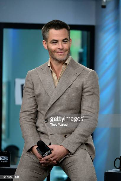 Chris Pine attends Build Presents The Cast Of 'Wonder Woman' at Build Studio on May 23 2017 in New York City