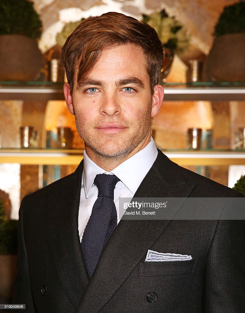 <a gi-track='captionPersonalityLinkClicked' href=/galleries/search?phrase=Chris+Pine&family=editorial&specificpeople=641995 ng-click='$event.stopPropagation()'>Chris Pine</a> attends the Charles Finch and Chanel Pre-BAFTA cocktail party and dinner at Annabel's on February 13, 2016 in London, England.