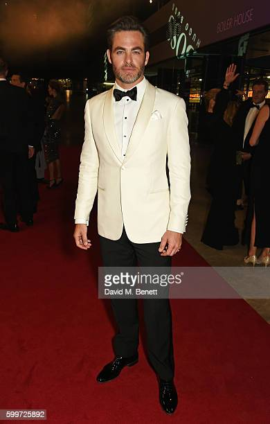 Chris Pine attends the GQ Men Of The Year Awards 2016 at the Tate Modern on September 6 2016 in London England