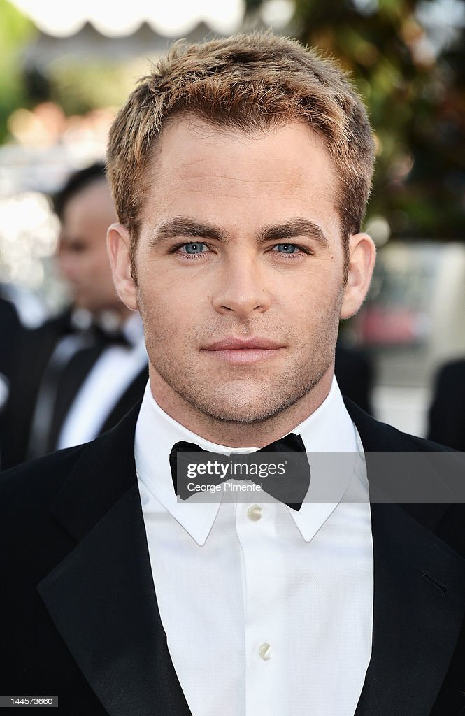 <a gi-track='captionPersonalityLinkClicked' href=/galleries/search?phrase=Chris+Pine&family=editorial&specificpeople=641995 ng-click='$event.stopPropagation()'>Chris Pine</a> attends the Opening Ceremony and 'Moonrise Kingdom' Premiere during the 65th Annual Cannes Film Festival at the Palais des Festivals on May 16, 2012 in Cannes, France.